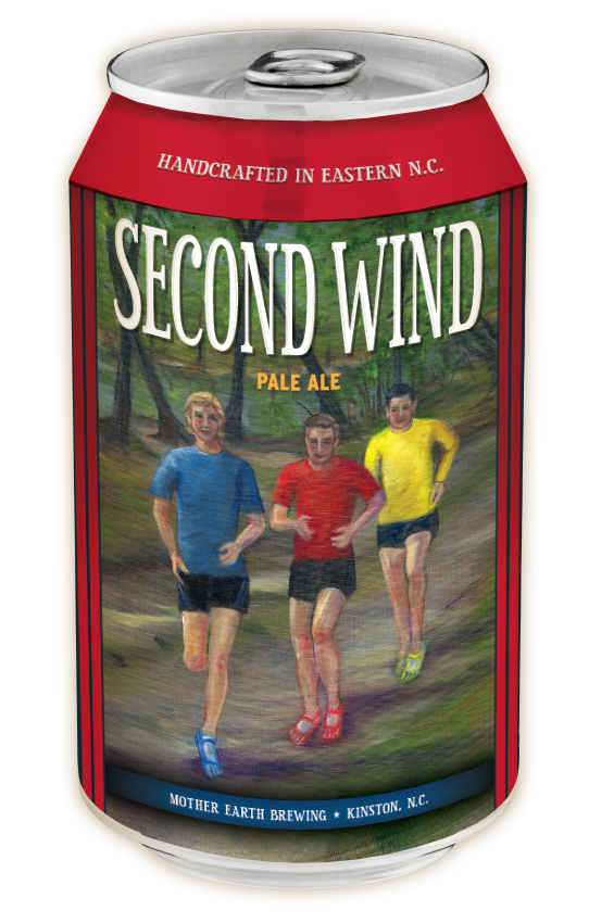 Second Wind Pale Ale in a Can